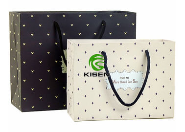 China Die Cut Retail Shop Bags Lightweight Eco Friendly Custom Length Handle supplier